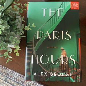 The Paris Hours by Alex George hardcover book ✨